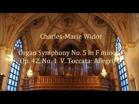 Organ Symphony No.5 in F minor...