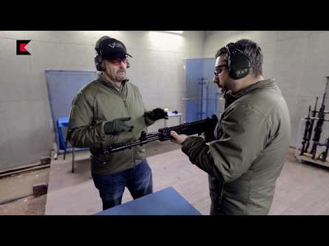 Larry Vickers shooting new AK-12 assault rifle