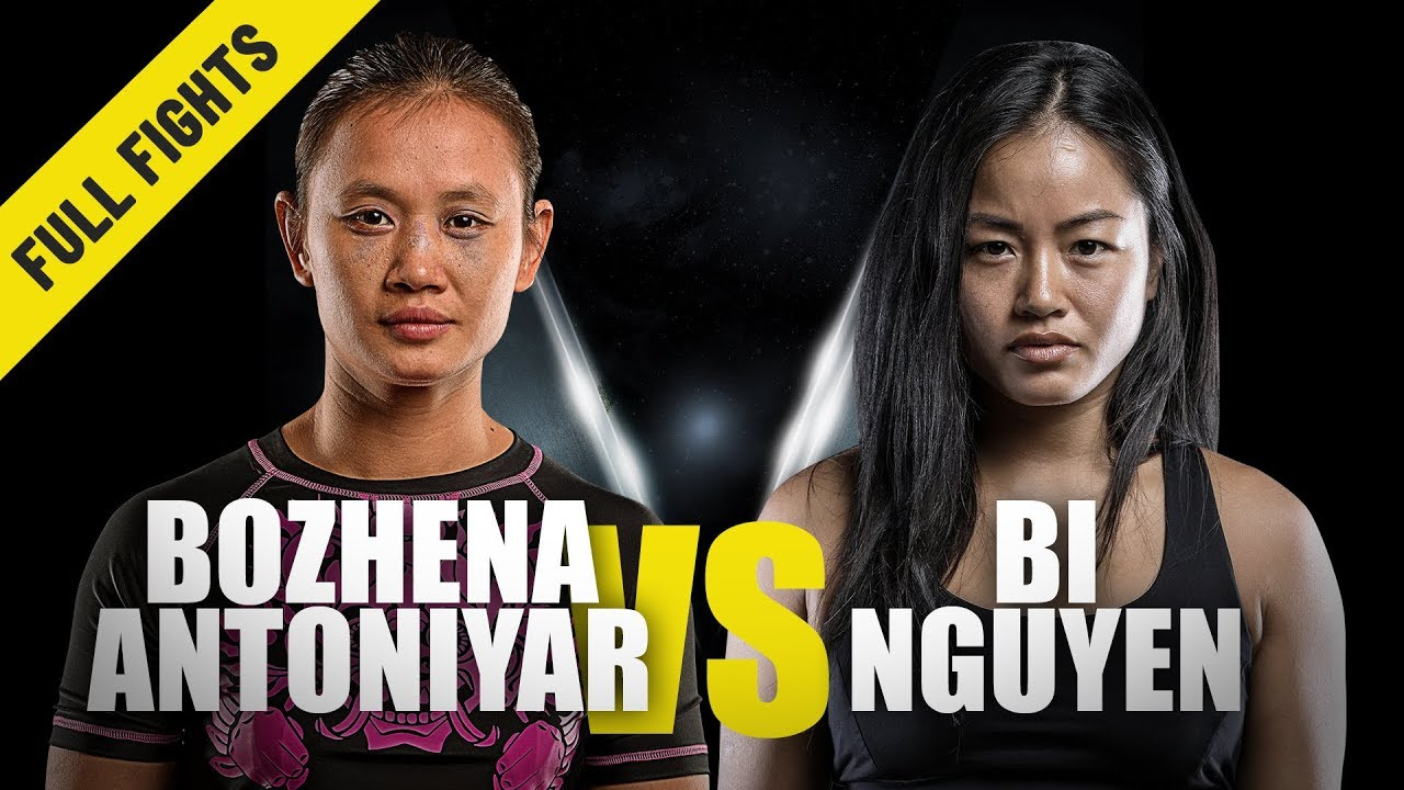Download Bozhena Antoniyar vs. Bi Nguyen | ONE Full Fight | Atomweight Thriller | July 2019