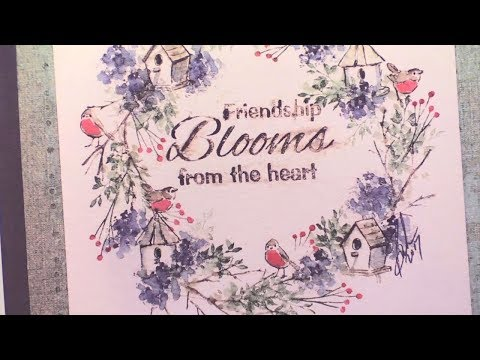Art Impressions New Watercolor Stamps Day 3 - Paper Wishes Weekly Webisodes