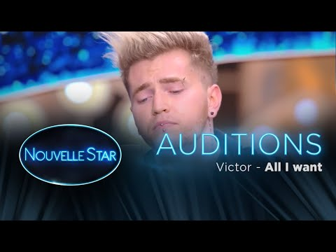 Victor : All I Want   Auditions  Nouvelle Star 2017