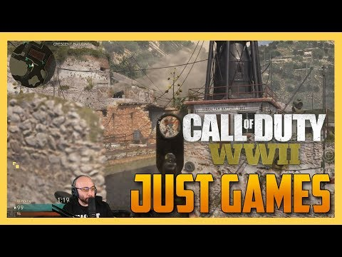 Just Games - PC Beta Matches in COD WW2!