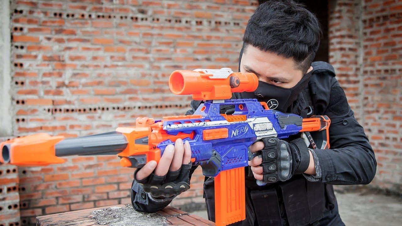 Download LTT Game Nerf Guns : Nerf Guns Game   MEGA Nerf Guns SEAL X Attack Crime group