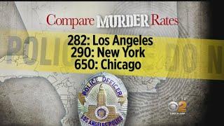 LAPD Chief's Report Details Homicide Statistics