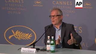 Cannes Festival director addresses equality, Netflix and Lars Von Trier