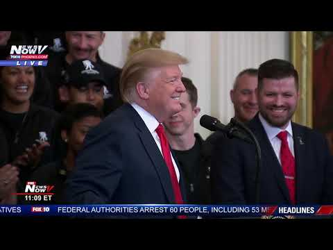 NO OBSTRUCTION: President Trump Says He's Having A Good Day