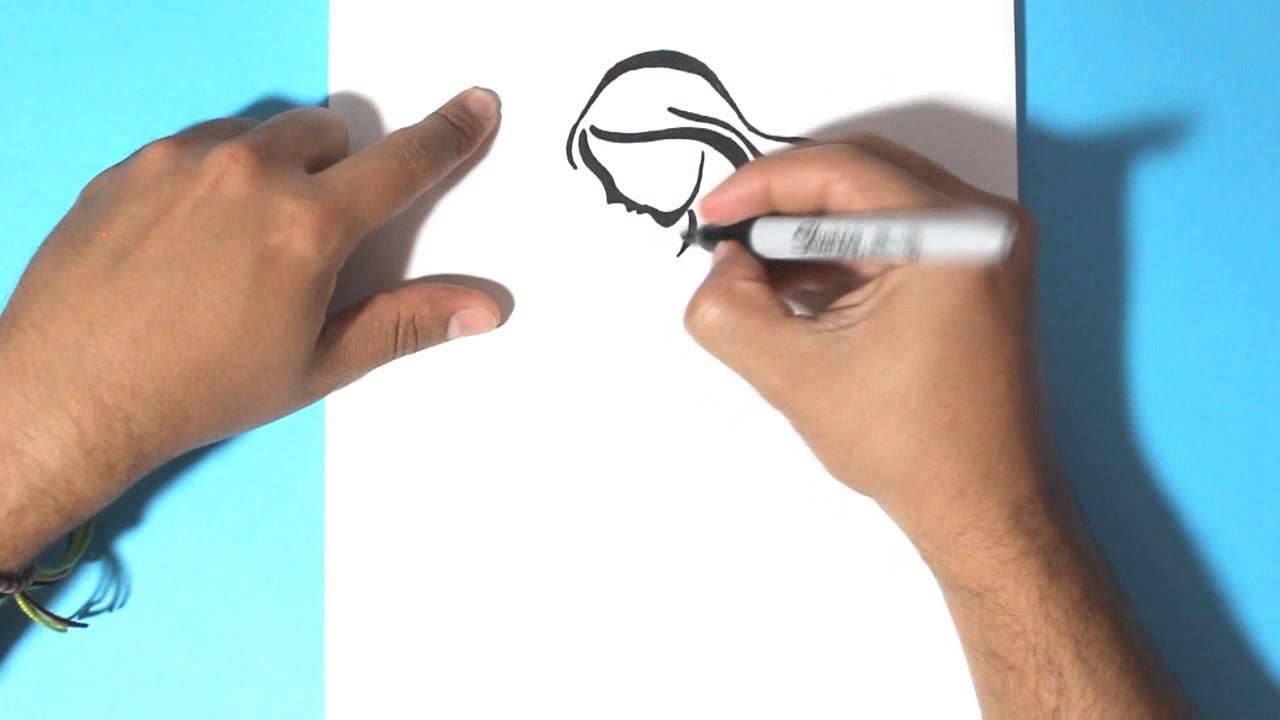 Como Dibujar Una Mujer En Embarazo How To Draw A Pregnant Woman