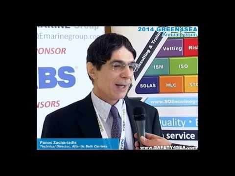 2014 GREEN4SEA Interview - Panos Zachariadis