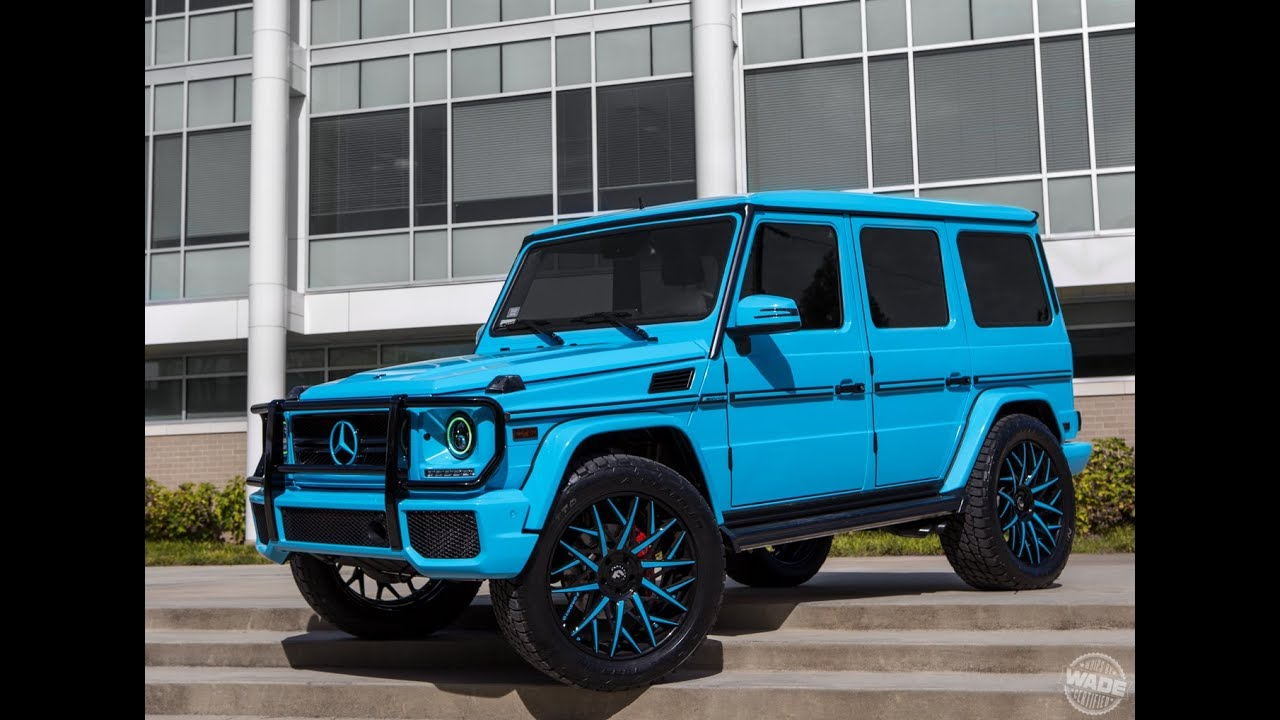 Lil Yachty's G-Wagon on 24