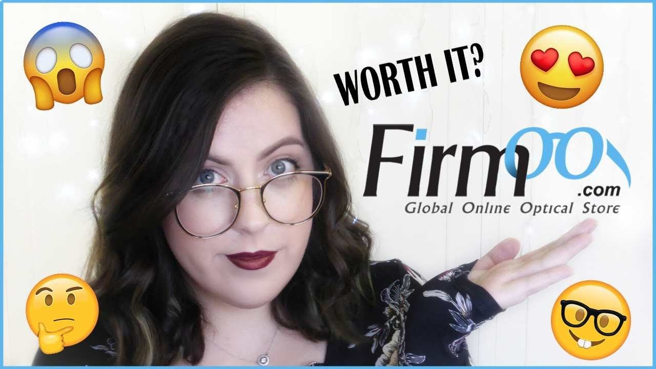 36fef7158a1 FIRMOO GLASSES REVIEW + WEARING MAKEUP WITH GLASSES TIPS   TRICKS ...