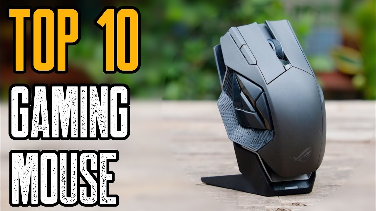 6a5fa2e42a5 Top 10 Best Gaming Mouse 2019! - YouTube