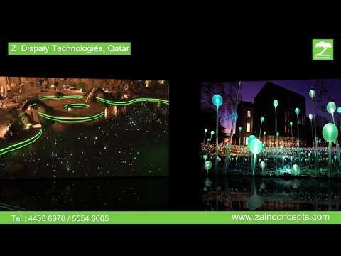 Z Display Technologies, Qatar - Fiber Optic Video