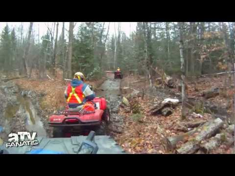 ATV Ride Searching For Train Wreck