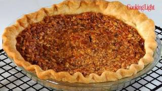 How To Make Light Oatmeal Pecan Pie | Cooking Light