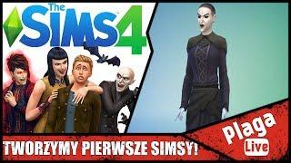 TWORZYMY PIERWSZE SIMSY! (The Sims #1) | PlagaLive
