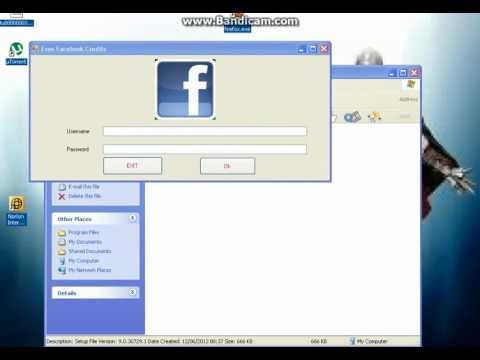how to get free facebook credits 2012 no survey or download