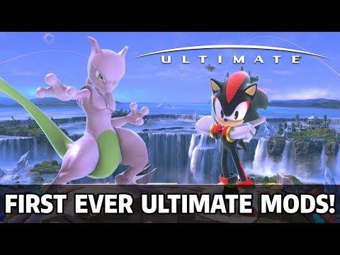 First Ever Super Smash Bros Ultimate Mods: Shadow & Shiny Mewtwo