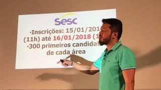 Baixar Dica QUENTÍSSIMA - SESC salário de R$ 8.316