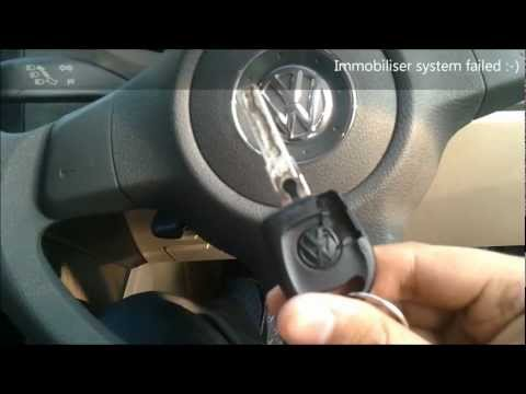 Start Volkswagen Car without immobilizer