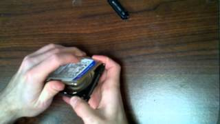 Western Digital: WD5000BEVT Disassemble
