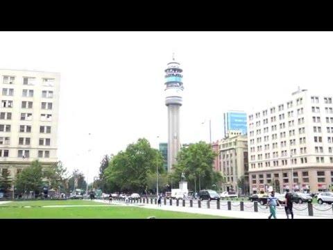 Entel Tower (Torre entel) in Santiago, Chile