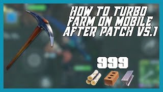 COMMENT TURBO FARM IN FORTNITE MOBILE (After Patch v5.1) The Tfue of Mobile (PATCHED)