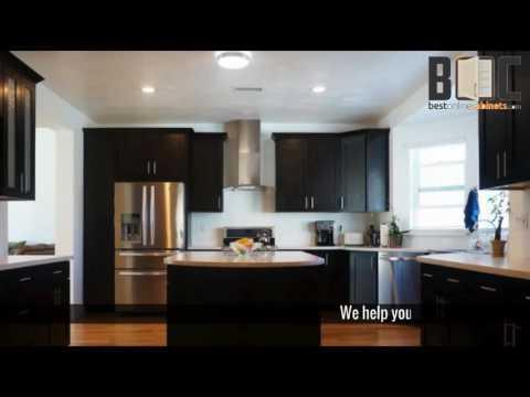Best Kitchen Cabinets Online Bestonlinecabinets YouTube Gorgeous Best Kitchen Cabinets Online