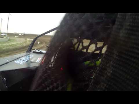 7/04/2015 BMP Speedway heat race (in car)