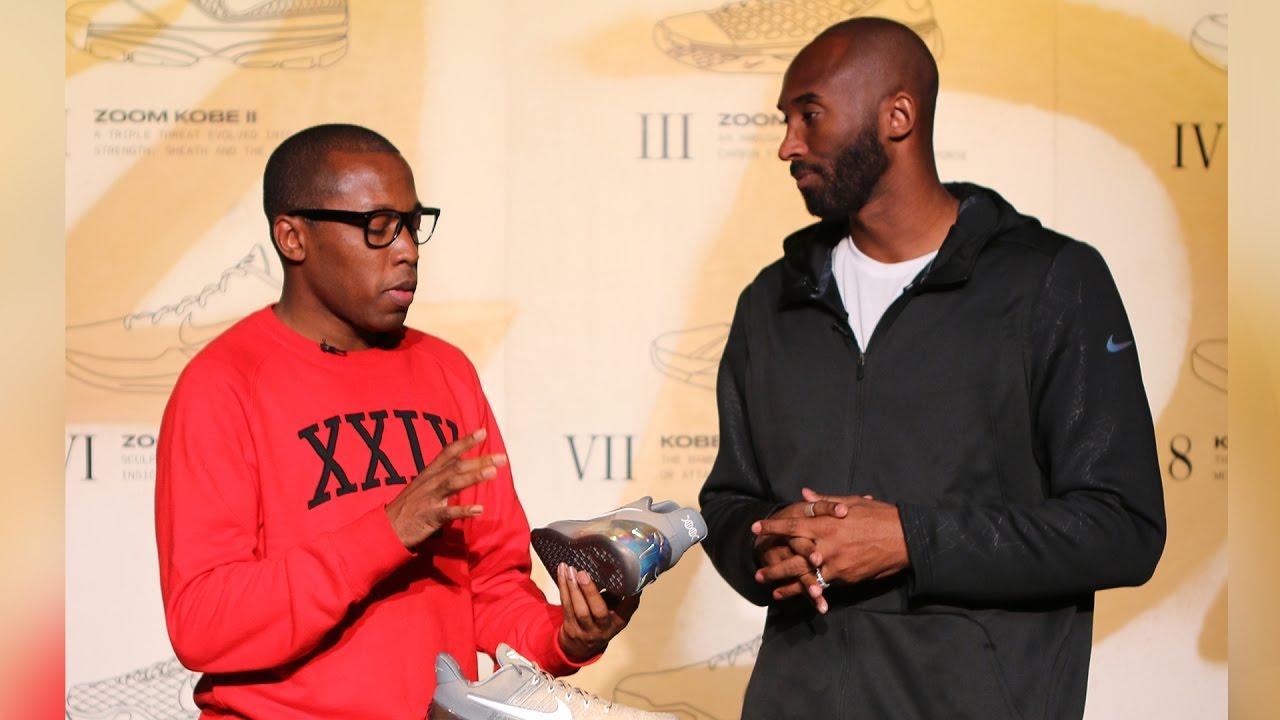 Unboxing The Nike Kobe A D With Kobe Bryant Youtube