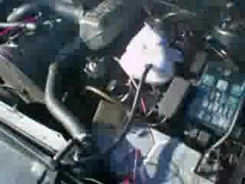 BMW 524td E28 runaway diesel, turbo failure heavy smoke engine failure