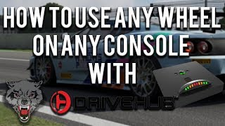 How to use any wheel on any console with Drive Hub