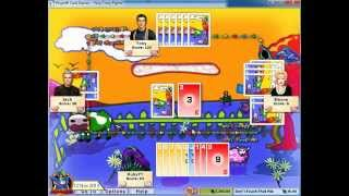 Hoyle Card Games 2005 - Crazy Eights 01 (3rd)[720p]