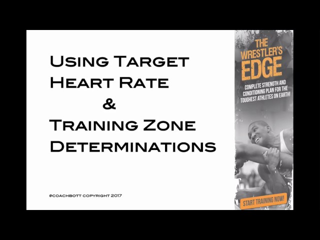 Using Target Heart Rate and Training ZONES