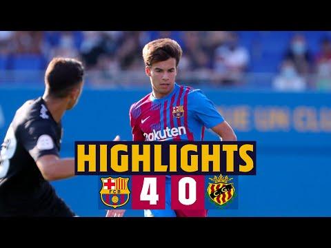 HIGHLIGHTS |  Barça 4 - 0 Gimnàstic Tarragona