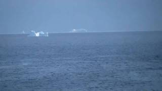Icebergs off of fishing Point in St. Anthony Newfoundland