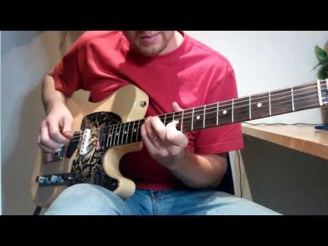 Slow Country Song with Duesenberg Multibender on Fender Telecaster