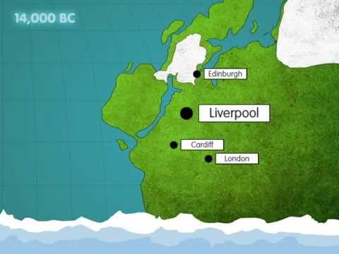 Birth of the River Mersey on