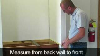Marcraft, Inc. - How To Measure And Install A Vanity Top Enclosed By Two Walls
