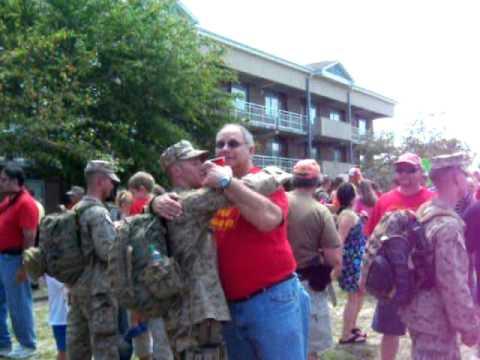 2nd Battalion 8th Marines/Echo Company Homecoming 2011