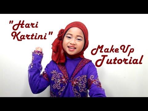 """""""HARI KARTINI"""" Make Up Tutorial Baju Kebaya Anak 💖 Ke Sekolah Memperingati Hari Ibu Kartini 💖"""