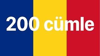 Romence öğrenin: Romence 200 ifadeler - Romence dilinde cümleler - Romanya dili