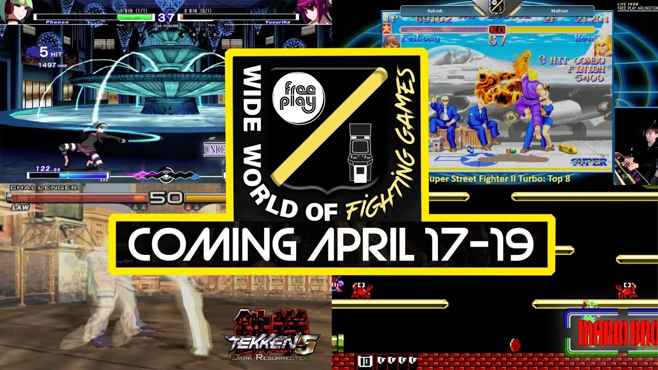 Free Play Arcade Spring Tournament Series Wide World Of