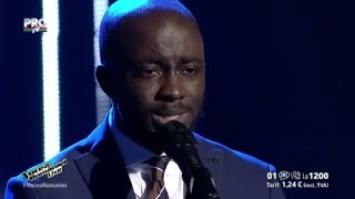 Tobi Ibitoye-See beneath your beautiful(Labrinth)-Vocea Romaniei 2015-LIVE 3- Ed. 13-Sezon5