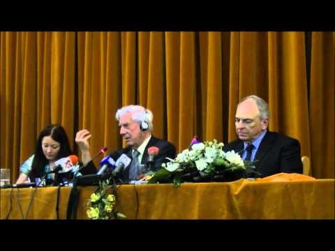 Mario Vargas Llosa in dialog cu Gabriel Liiceanu la Cluj