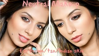 Neutral Makeup for Indian Skin