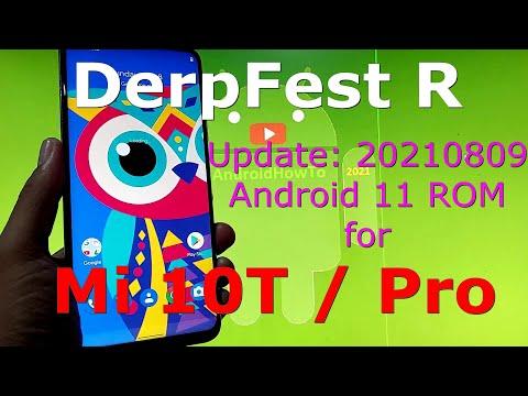 DerpFest R for Xiaomi Mi 10T / Mi 10T Pro ( Apollo / Pro ) Android 11 ROM