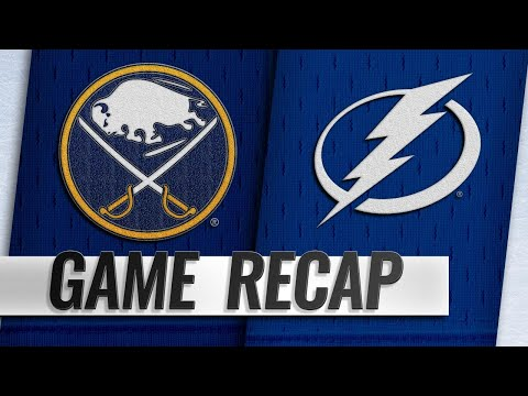 Paquette's goal helps Lightning snap Sabres' streak
