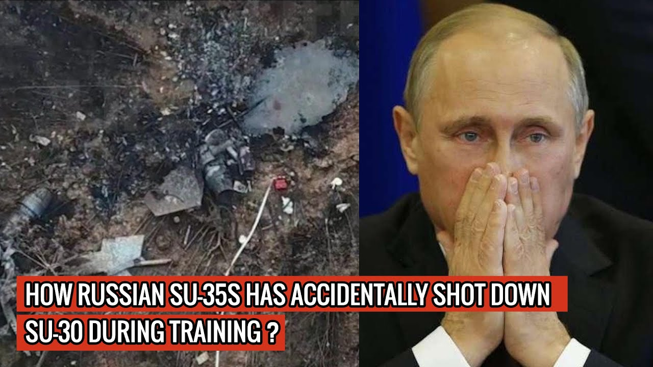 U.S MILITARY DOESN'T NEED F22 or F 35 TO COUNTER RUSSIAN 'FLANKERS'- THEY ARE SHOOTING EACH OTHER !