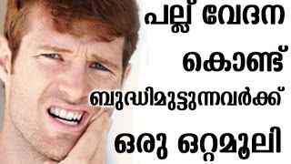 Home remedy For Tooth Ache Ayurveda Remedy