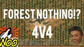 AoE2 - Forest Nothing 4v4!?